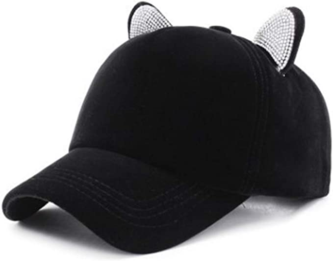 BOERMO - Gorras de béisbol Ajustables para Mujer, Adorno de ...