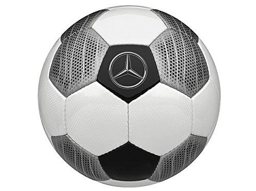 Mercedes Benz, Fútbol, entrenamiento de fútbol, color blanco/plata/negro, poliuretano Fútbol entrenamiento de fútbol DERBYSTAR