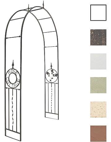 CLP Arco de Flores Cottage Elaborado en Hierro I Soporte de Jardín Idóneo para Enredaderas I