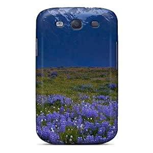 AtSpuXQ5298lOOgz Snap On Case Cover Skin For Galaxy S3(blue Mountains A Purple Field)