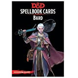 Dungeons & Dragons: Spell Book Cards: Bard Deck Card Game (8 Players)