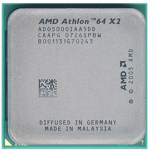 - AMD Athlon 64 X2 5000+ 512KB Cache Socket AM2 Dual-Core CPU