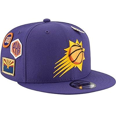 New Era Phoenix Suns 2018 NBA Draft Cap 9FIFTY Snapback Adjustable Hat- Purple by New Era