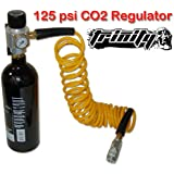 Trinity Co2 Regulator Kit with 20oz Tank for Air Tools, Portable Kit for Pneumatic Tools, 125psi Co2 Regulator Kit for Air Tools, Nail Gun Portable Co2 Kit, Fast Shipping