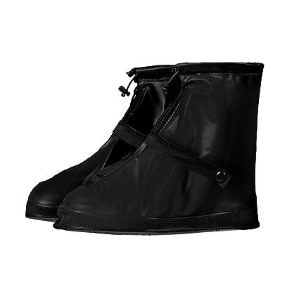 305f9b5116da2 Amazon.com: Waterproof Shoe Covers, Women Men Reusable Anti-slip ...