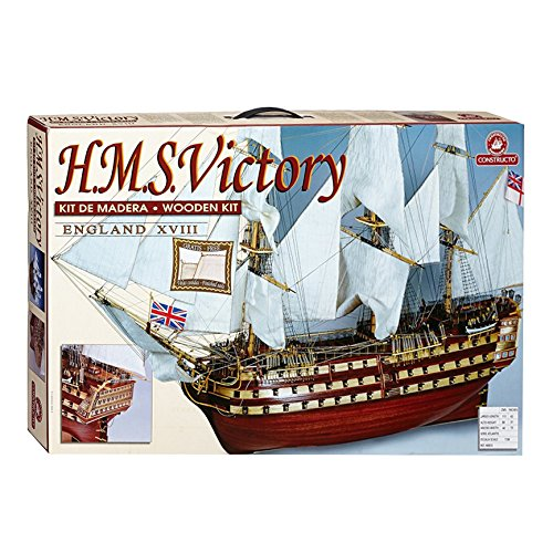 Hms Victory Wood Model Ship - CONSTRUCTO 80833 1/95 H.M.S. Victory Kit