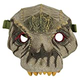 Dinosaur Mask for Kids, Animal Face Mask, Dino Toys, Jurassic World Party Supplies, T-Rex, Triceratops, Iguanodon, Great for Halloween, Playtime, Cosplay, Realistic Features (Iguanodon)