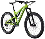 Diamondback Bicycles Catch 2 Full Suspension 27.5 Plus Mountain Bike, Green, 19″/Large