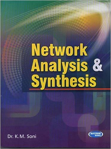 Km soni network analysis synthesis pdf