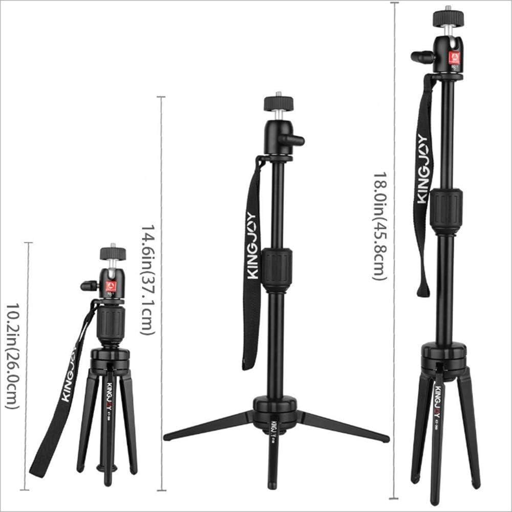 Suitable for Digital Camera//Digital SLR Camera Mengen88 Camera Tripod Professional Aluminum Tripod Portable Desktop Stand Carrying case Maximum Load 4kg