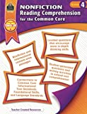 Nonfiction Reading Comprehension for the Common Core Grd 4