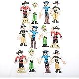 Bendable Pirates (1 Dozen)