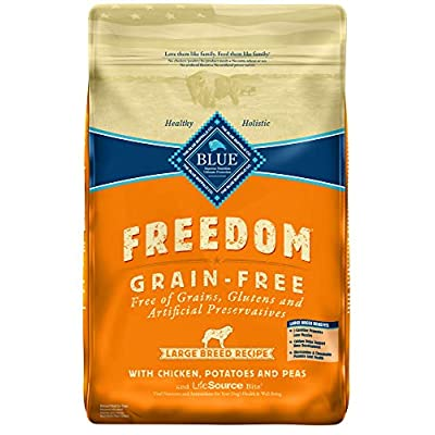 Blue Buffalo Freedom Grain Free Natural Adult Large Breed Dry Dog Food