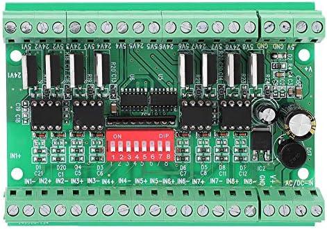 モーションコントロールカードブレークアウトインターフェイスボード、8チャンネルNPN / PNP〜NPN 5V / 24V 信号変換モジュールレベルコンバータ10MHZ 1A