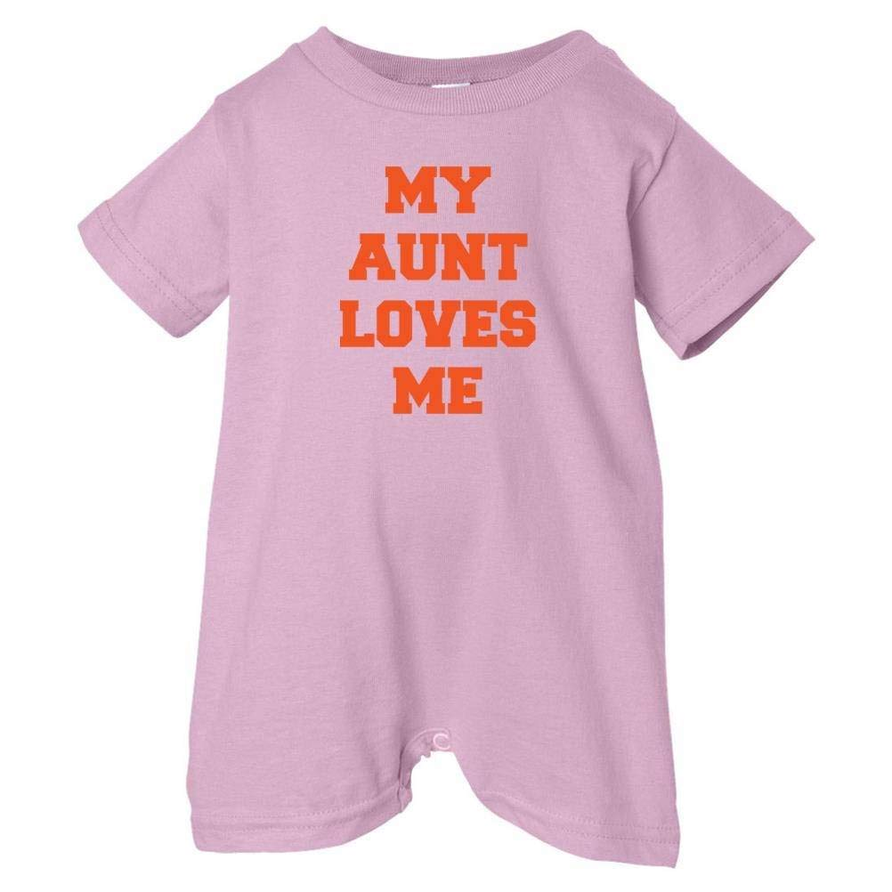 So Relative Unisex Baby My Aunt Loves Me T-Shirt Romper