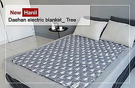 Hanil Electric Blanket Heating Bed Pad Winter Mattress Cover Cloud Pink S,M,L