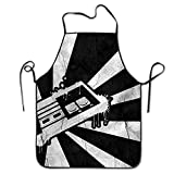 Novelty Retro Games Unisex Kitchen Chef Apron - Chef Apron For Cooking,Baking,Crafting,Gardening And BBQ