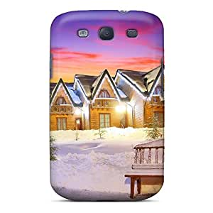 Fashion Design Hard Case Cover/ WDx3818PIis Protector For Galaxy S3