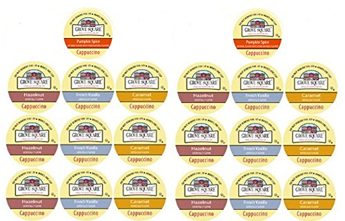 20 Cup Grove Square® Cappuccino Single Serve cups! Love d...