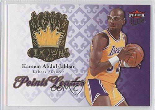 Kareem Abdul-Jabbar (Basketball Card) 2007-08 Fleer Ultra - Season Crowns - Memorabilia #SC-5
