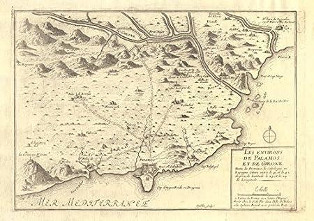 Les environs de Palamos et de Girone GironaGerona Spain DE FER
