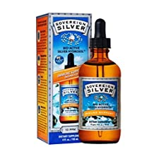 Bio-Active Silver Hydrosol by Sovereign Silver - 4 oz dropper, 10 ppm