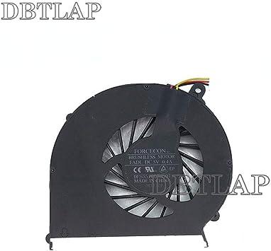 DBTLAP Ventilador de la CPU del Ordenador portátil para HP COMPAQ 630 635 430 435 431 631 G43 CQ43 CQ57 G43 G57 646181-001 CPU enfriamiento Ventilador: Amazon.es: Electrónica