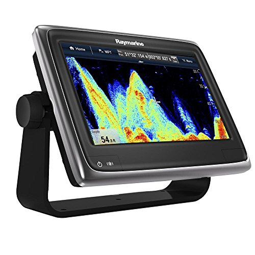 "Raymarine a97 Multifunction Display with Fishfinder, Wi-Fi & USA C-Map Essentials, 9"" Fish Finders And Other Electronics Raymarine"