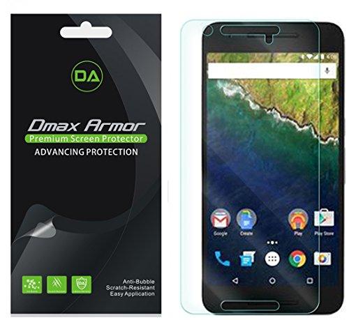 Nexus 6P Screen Protector, [6-Pack] Dmax Armor® Anti-Glare & Anti-Fingerprint (Matte) Screen Shield For Huawei (Google) Nexus 6P -Lifetime Replacements Warranty- Retail Packaging