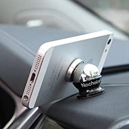 Nochoice Magnetic Car Mount Kit for Cell Phones with 3 Magnets and 3 Balls