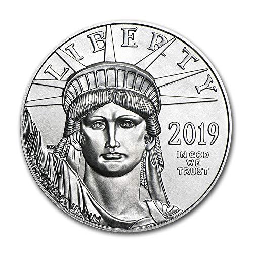 2019 1 oz Platinum American Eagle $100 Brilliant Uncirculated US Mint (Platinum Bullion)