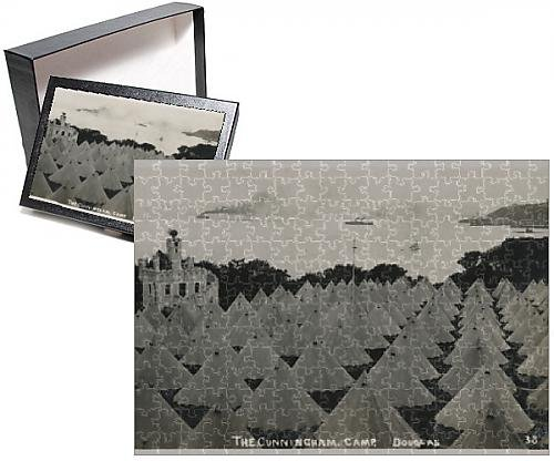 Photo Jigsaw Puzzle of Cunningham Holiday Camp - Isle of Man