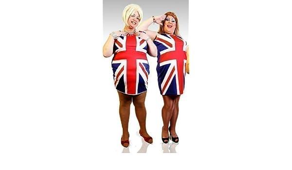 Union Jack para Hombre Spice Girls Vestido XL: Amazon.es: Ropa y ...