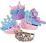 Foam Princess Tiaras Crowns Party Dress-up Role