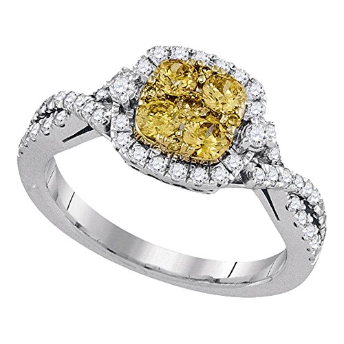 Yellow Diamond Rings - 3
