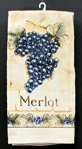 Castle Rock Merlot (VoojoStore Merlot Grape Hand Towel - Unique Gift For Birthday Christmas Wedding Anniversary Engagement Graduation Couples Men Women Mom Dad Grandpa Sister Wife Husband Friends)