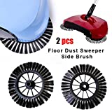 Compia New Arrival Home Use Magic Manual Telescopic Floor Dust Sweeper Side Brush