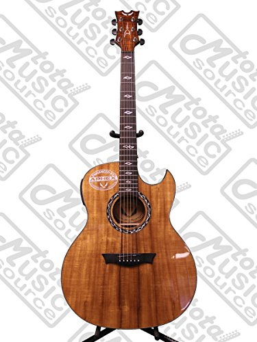 Thin Mahogany Body Acoustic-Electric Guitar with Aphex Aural Exciter Technology (Thin Body Acoustic Electric Guitar)