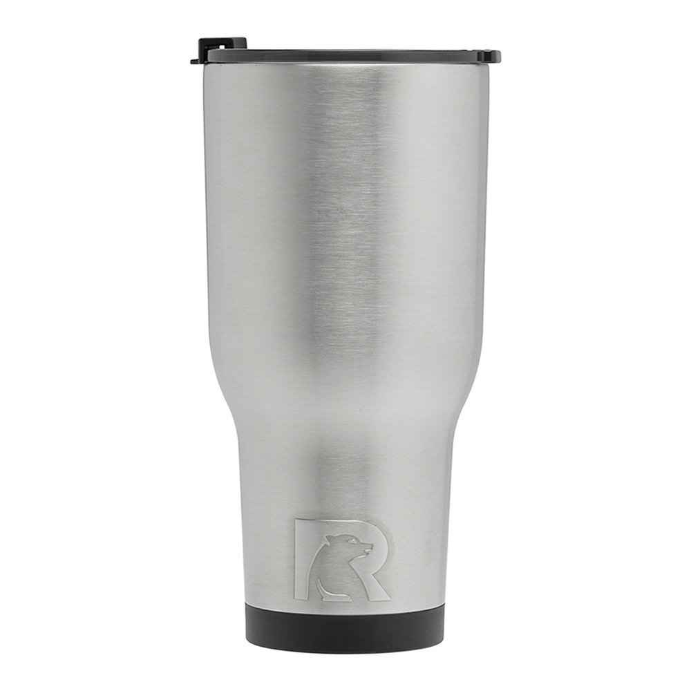 RTIC Double Wall Vacuum Insulated Tumbler, 40 oz, Stainless Steel by RTIC