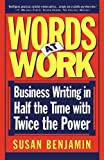 Words at Work, Susan Benjamin, 0201154846