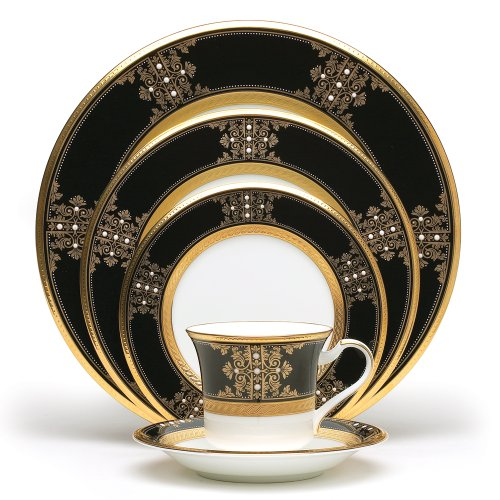 Noritake Gold Dinnerware - Noritake Evening Majesty 5-Piece Place Setting