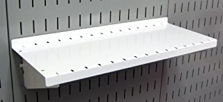 product image for Wall Control Pegboard Shelf 6in Deep Pegboard Shelf Assembly for Wall Control Pegboard and Slotted Tool Board – White