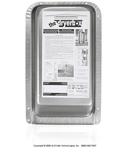 The Dryer Box® 350 Recessed Dryer Vent Box (# DB-350, DB350, (Wall Dryer Vent)
