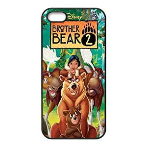 Happy Bro ther bear Case Cover For iPhone 5S Case