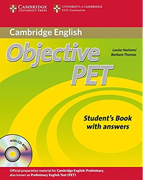 Objective PET/Second Edition/Self-study Pack/m. CD/CDR: Amazon.es ...