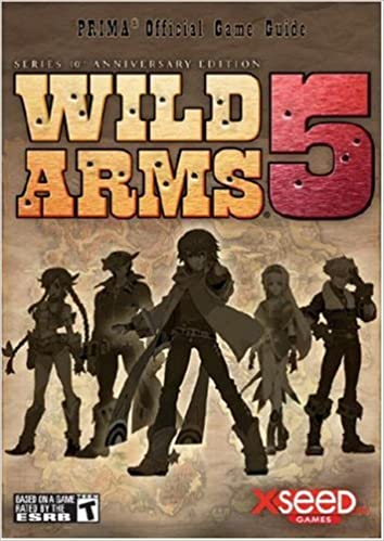Wild arms 5 series 10th anniversary edition prima official game.