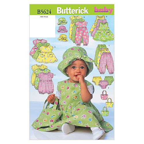 Butterick Patterns Infants Jumpsuit Panties product image