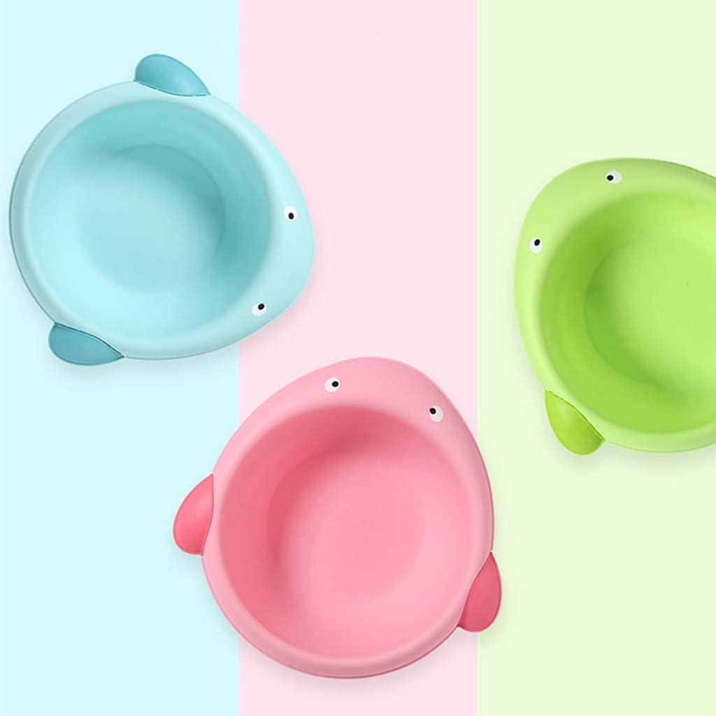 perfeclan Baby Waschschale Waschsch/üssel Waschwanne aus Kunststoff Frosch blau