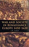 Book cover for War and Society in Renaissance Europe 1450-1620