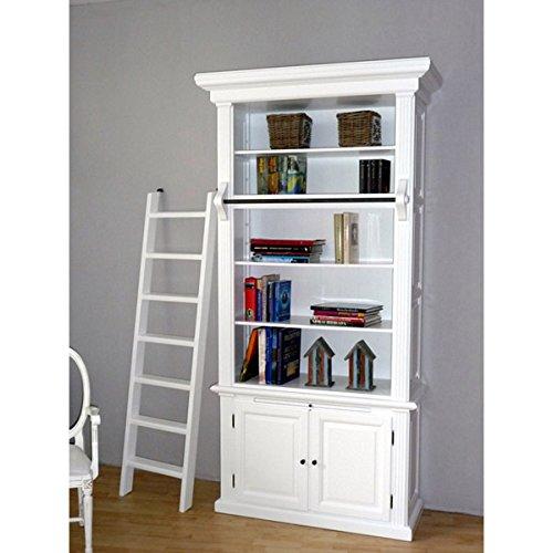 Bücherschrank WASHINGTON 1er, Breite 120cm weiß